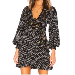 NWT FREE PEOPLE WONDERLAND PRINT